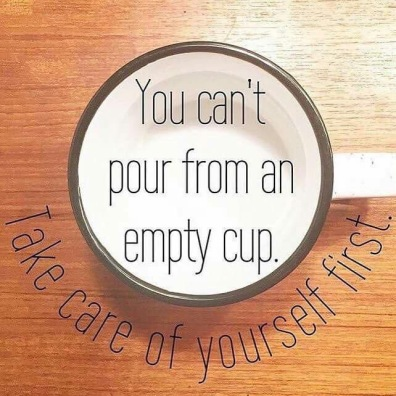 Image result for you can't fill from an empty cup